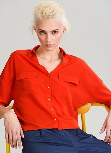 Cep Detaylı Gömlek-People By Fabrika
